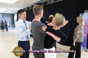 Big thumb strictly come dancing professional anton du beke teaching